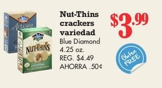Nut-Thins Crackers Variedad