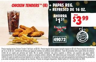 Chicken Tenders (8)