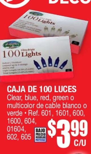 Caja de 100 Luces