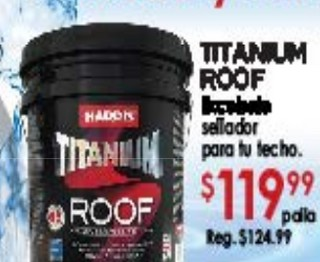 Titanium Roof Sellador