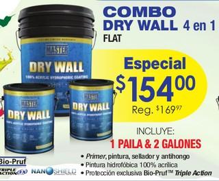 Combo Dry Wall 4 en 1