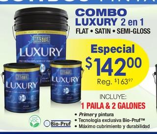 Combo Luxury 2 en 1