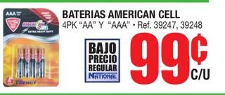 Baterias American Cell