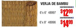 Verja de Bambu