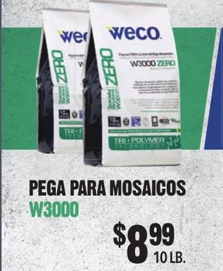 Pega Para Mosaicos W3000