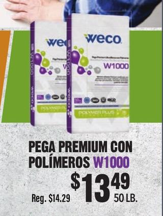 Pega Premium Polimeros W1000