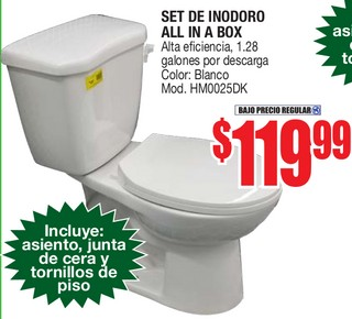 Set de Inodoro All In a Box