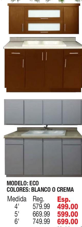Gabinetes de Cocina en PVC