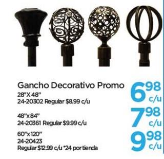 Ganchos Decorativo Promo
