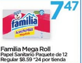 Familia Mega Roll Papel Sanitario