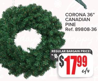 Corona 36'' Canadian Pine