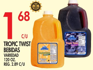 Tropic Twist Bebidas Variedad