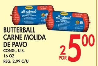 Butterball Carne Molida de Pavo