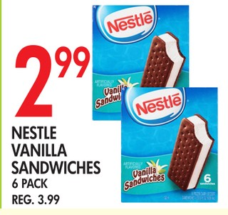 Nestle Vainilla Sandwiches