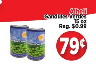 Alheli Gandules Verdes