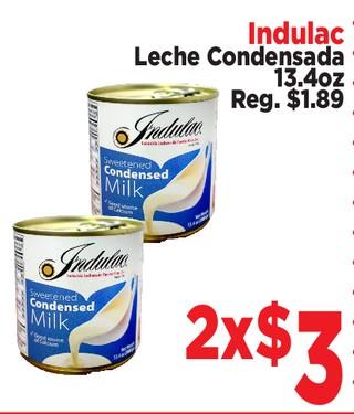 Indulac Leche Condensada