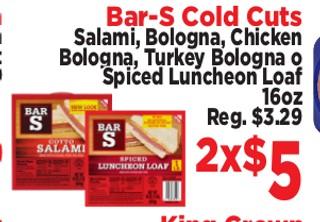 Bar-S Cold Cuts