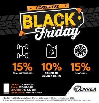 Correa Tire Black Friday
