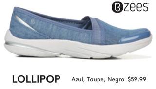 Lollipop Azul, Taupe, Negro