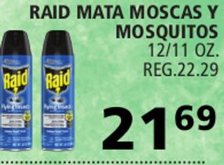 Raid Mata Moscas y Mosquitos