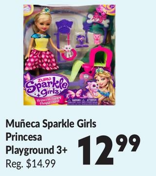 Muñeca Sparkle Girls Princesa