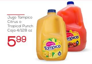 Jugo Tampico Citrus o Tropical Punch