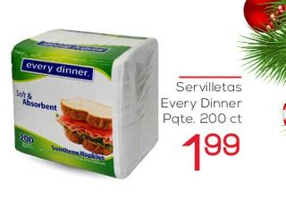 Servilletas Every Dinner