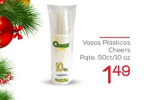 Vasos Plasticos Cheers