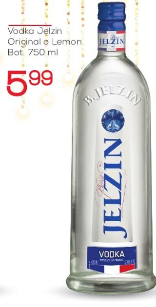 Vodka Jelzin Original o Lemon
