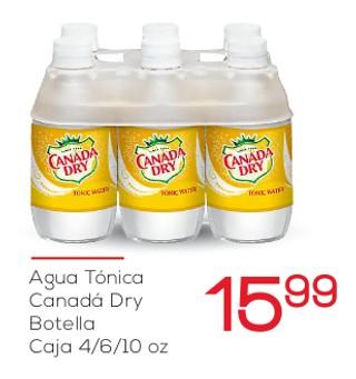 Agua Tónica Canadá Dry