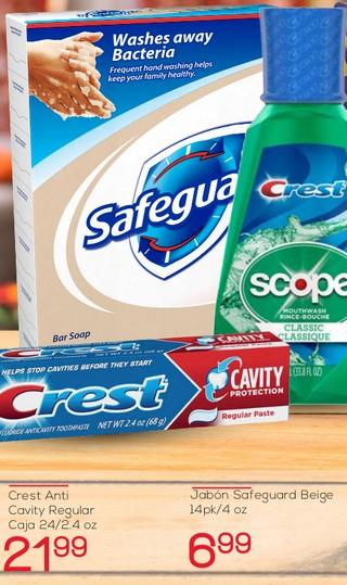 Jabón Safeguard Beige