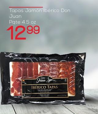 Tapas Jamón Ibérico Don Juan