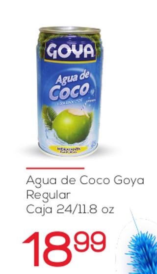 Agua de Coco Goya Regular