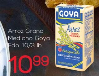 Arroz Grano Mediano Goya