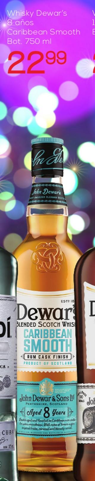 Whisky Dewar's 8 Años