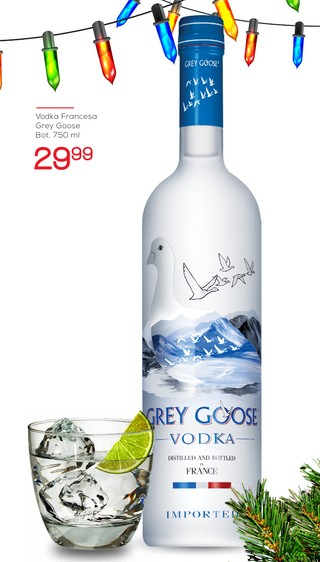 Vodka Francesa Grey Goose