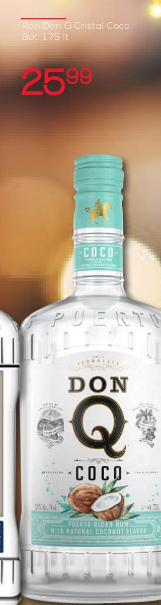 Ron Don Q Cristal Coco