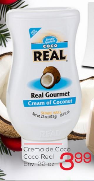 Crema de Coco Coco Real