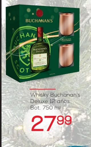 Whisky Buchanan's Deluxe 12 años