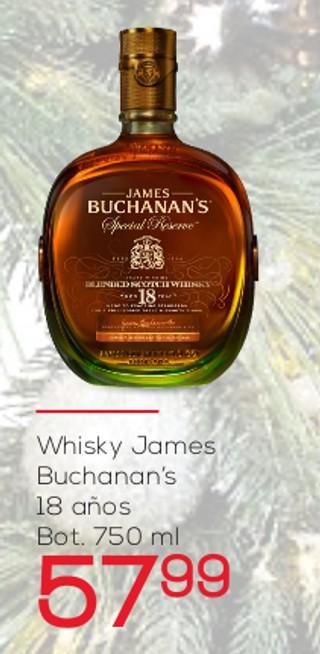 Whisky James Buchanan's 18 años