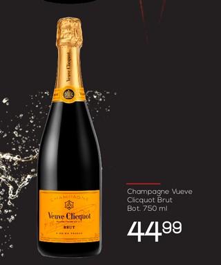 Champagne Vueve Clicquot Brut