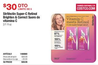 StriVectin Super-C Retinol Brighten & Correct Suero de Vitamina