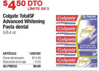 Colgate Total SF Advanced Whitening Pasta Dental