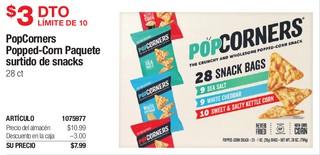 PopCorners Popped-Corn Paquete Surtido de Snacks