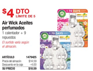 Air Wick Aceites Perfumados