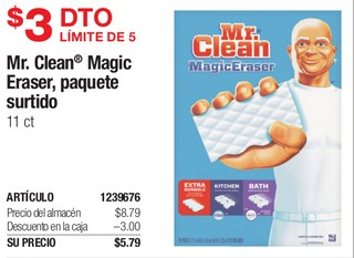 Mr. Clean Magic Eraser, Paquete Surtido