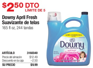 Downy April Fresh Suavizante de Telas