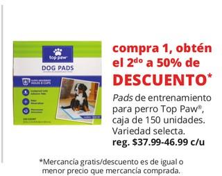 Pads de Entrenamiento Para Perro Top Paw