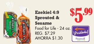 Ezekiel 4:9 Sprouted & Sesame