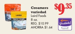 Creamers Variedad Laird Food